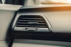 在汽车的空调系统 图库摄影