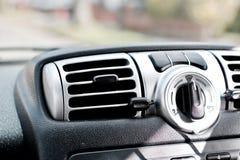 在汽车的驾驶舱 免版税图库摄影