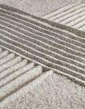 在沙子的图 免版税库存图片