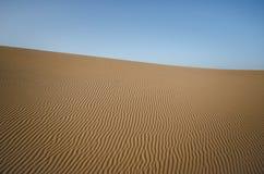 在沙子的模式 库存图片