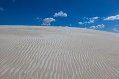 在沙子的模式 图库摄影
