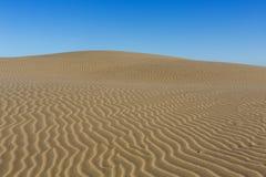 在沙子的模式 免版税库存图片