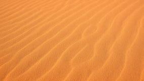 在沙子的波纹在珊瑚桃红色沙丘国家公园 图库摄影