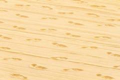 在沙子的踪影 免版税库存照片