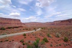 在沙漠 图库摄影