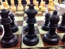 在沙特的棋 免版税图库摄影
