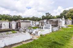 在没有拉斐特的公墓的墓碑 1在新奥尔良 免版税图库摄影