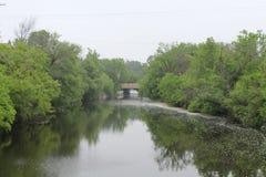 在河的反映 图库摄影