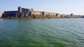 在河的城堡 图库摄影