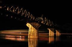 在河的桥梁kwai 免版税库存图片