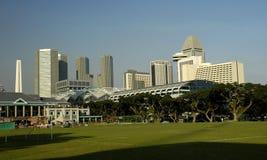 在河系列新加坡附近 库存图片
