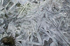 冻水在河 免版税图库摄影