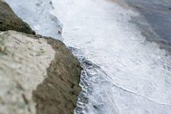 冻水在河 库存图片