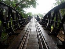 在河Kwai的桥梁 库存图片