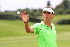 在法国高尔夫球的Joost Luiten打开2013年 库存照片