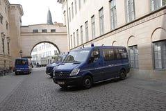 在法院的DENMARK_police 库存照片