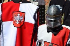在波兰授以爵位从马尔堡的纪念品 免版税图库摄影