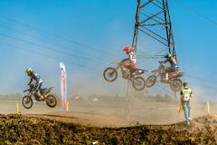 在波兰摩托车越野赛冠军波兰,格但斯克11 Septemeber的未定义车手2016年 免版税图库摄影