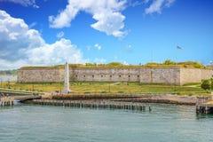 在波士顿附近的堡垒独立 库存照片