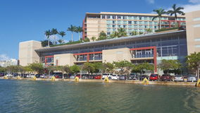 在波多黎各大会区的喜来登酒店 免版税库存照片