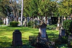 在波恩修改Friedhof 免版税图库摄影