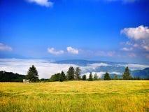 在波斯尼亚的mountaine的旅行 图库摄影