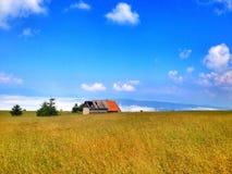 在波斯尼亚的mountaine的旅行 免版税库存图片