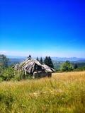 在波斯尼亚的mountaine的旅行 免版税库存照片