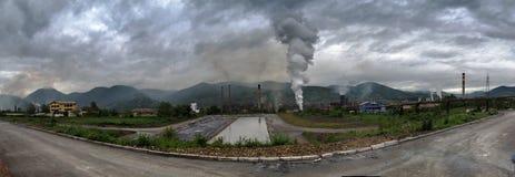 洪水在波斯尼亚 免版税图库摄影