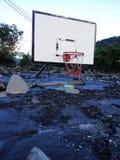 洪水在波斯尼亚 免版税库存照片