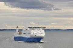 在波罗的海的巡航船 芬兰 旅行假日 库存照片