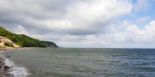 在波罗的海的阳光戏剧 免版税图库摄影