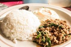 在泰国享用食物 库存图片