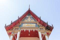 在泰国关闭的古庙 免版税图库摄影