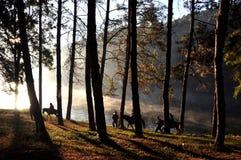 在泰国北部的旅行 免版税库存照片