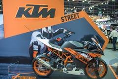 在泰国国际马达商展的KTM汽车2015年 库存照片