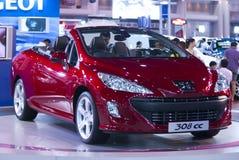 在泰国国际马达商展12月2009日的汽车04日 免版税库存照片