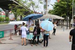 在泰国存放果子 库存照片