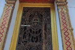 在泰国寺庙的工艺艺术品 免版税图库摄影