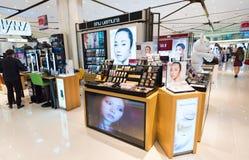 在泰国模范购物中心,曼谷的蜀国Uemura化妆用品 图库摄影