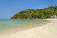 在泰国湾的晴朗的早晨 免版税图库摄影