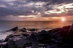在泰国湾,宋卡的星期天 库存照片