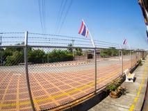 在泰国火车的方式 库存照片