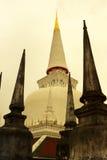 在泰国的南部的寺庙 库存照片