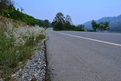 在泰国的省的路 库存图片