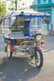 在泰国的街道的三轮车 图库摄影