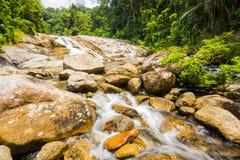 在泰国的Karome瀑布 免版税库存照片