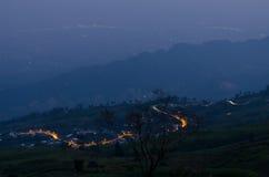 在泰国的Phu木盆Berk 免版税库存图片