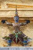 在泰国的YAKSA巨人 库存照片