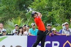 在泰国高尔夫球冠军的Natipong Srithong 2015年 免版税库存图片